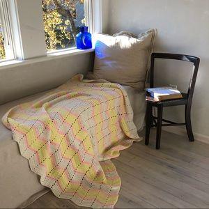 Sunny Day Chevron Granny Blanket
